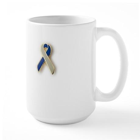 Coping with Cancer awareness ribbon Mug