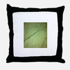 tim burtony style tree, grass, etc Throw Pillow