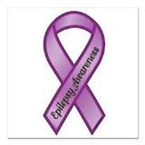 Epilepsy Square Car Magnets