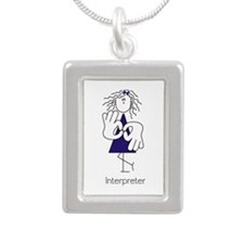Female Terp with Bow Blue.png Necklaces