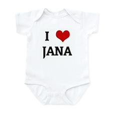 I Love JANA Onesie