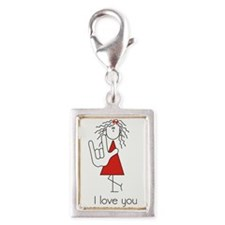 Female ILY with Bow... Charms