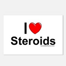 Steroids Postcards (Package of 8)