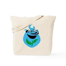 halo reach flower Tote Bag