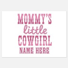 Personalized Mommy's Little Cowgirl Invitations