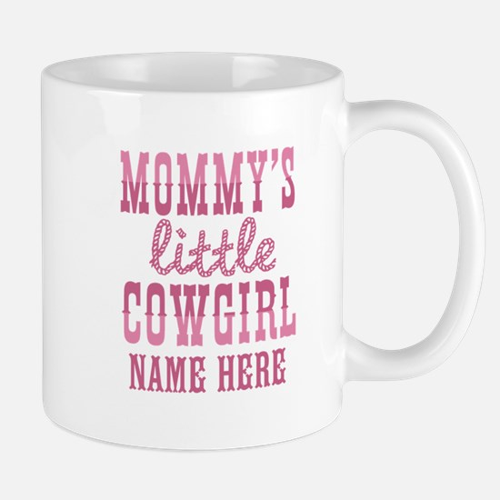 Personalized Mommy's Little Cowgirl Mug