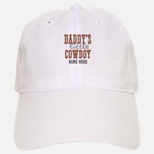 Add Name Daddy's Little Cowboy Baseball Baseball Cap