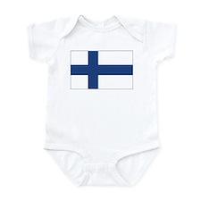 Finland Flag Infant Bodysuit