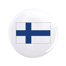 "Finland Flag 3.5"" Button (100 pack)"