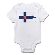 Finland Naval Ensign Infant Bodysuit