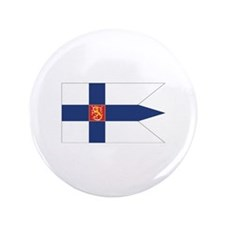 "Finland Naval Ensign 3.5"" Button (100 pack)"