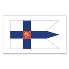 Finland Naval Ensign Decal