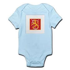 Finland Naval Jack Infant Bodysuit