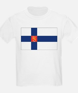 Finland State Flag T-Shirt