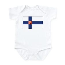 Finland State Flag Infant Bodysuit