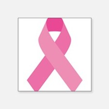Single Pink Ribbon Sticker