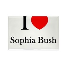 I love Sophia Bush Rectangle Magnet