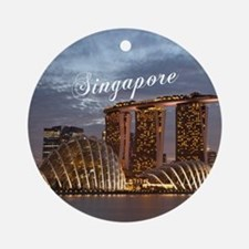 Singapore Ornament (Round)