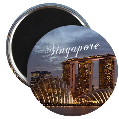 "Singapore 2.25"" Magnet (10 pack)"