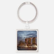 Singapore Square Keychain