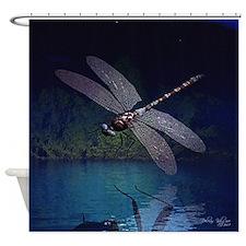 dragonfly10asq.jpg Shower Curtain