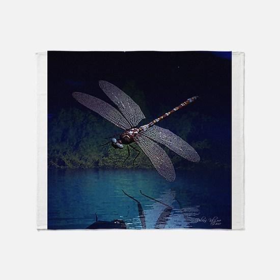 dragonfly10asq.jpg Throw Blanket
