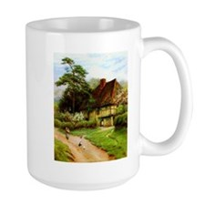 Old English Country Cottage Mug