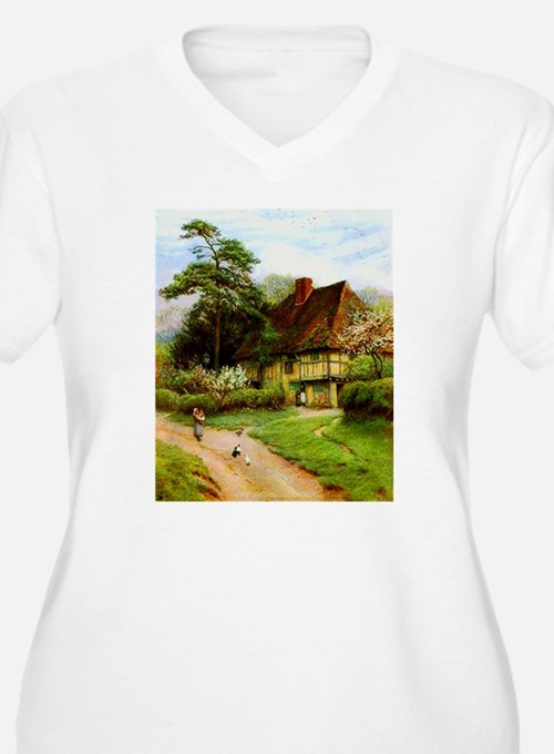 Old English Country Cottage T-Shirt