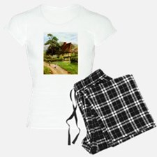 Old English Country Cottage Pajamas