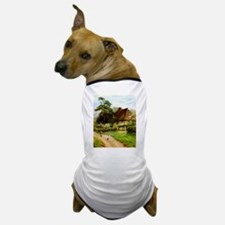 Old English Country Cottage Dog T-Shirt
