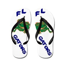FL Gators Flip Flops
