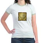 Celtic Letter J Jr. Ringer T-Shirt