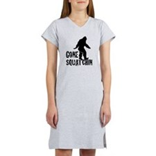 Gone squatchin print Women's Nightshirt