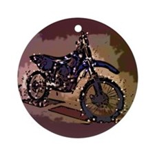 Christmas Dirt bike Ornament