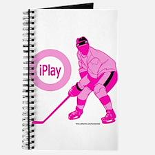 I Play Hockey Journal