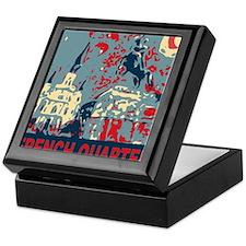 french-quarterbluessq.jpg Keepsake Box