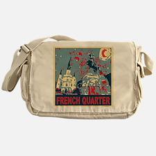 french-quarterbluessq.jpg Messenger Bag