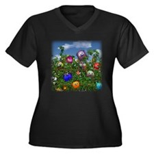 Cuddles by the fence Plus Size T-Shirt