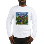 Cuddles by the fence Long Sleeve T-Shirt