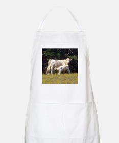 cow and calf BBQ Apron