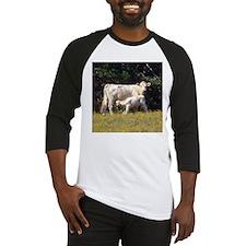 cow and calf Baseball Jersey
