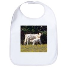 cow and calf Bib