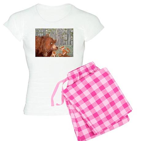 Bear and foxes pajamas