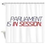 Parliament In Session Shower Curtain