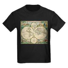 World Map 1670 T-Shirt