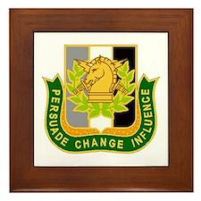 PSYOP Regimental Crest Framed Tile