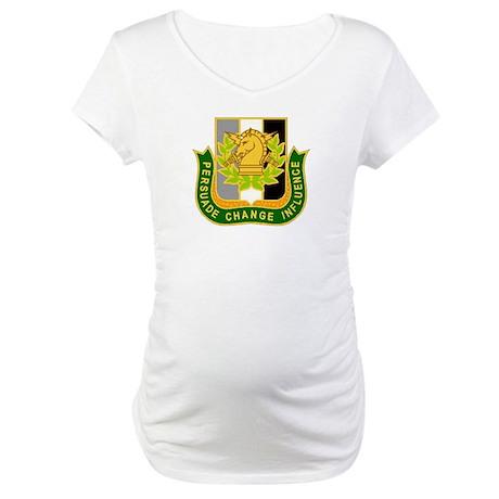 PSYOP Regimental Crest Maternity T-Shirt