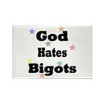 God Hates Bigots (Rbo) Rectangle Magnet (10 pack)