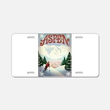 Aspen Paradise Aluminum License Plate