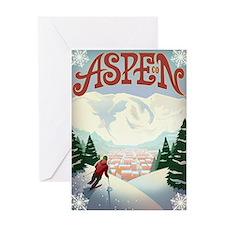 Aspen Paradise Greeting Card
